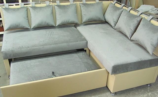 Комфортный уголок со спальным местом