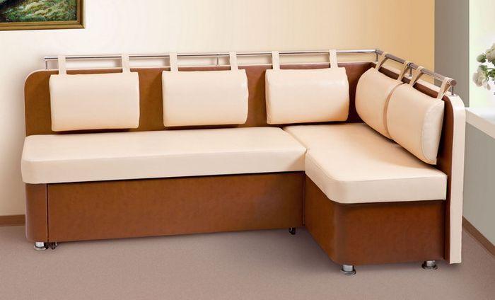 Кухонный раскладной диван