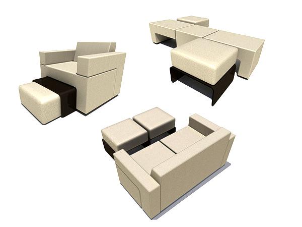Модульный диван трансформер