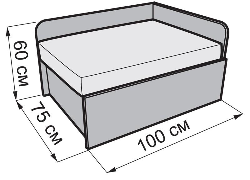 Размеры дивана малютка