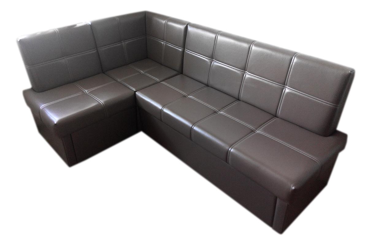 Серый кухонный диван