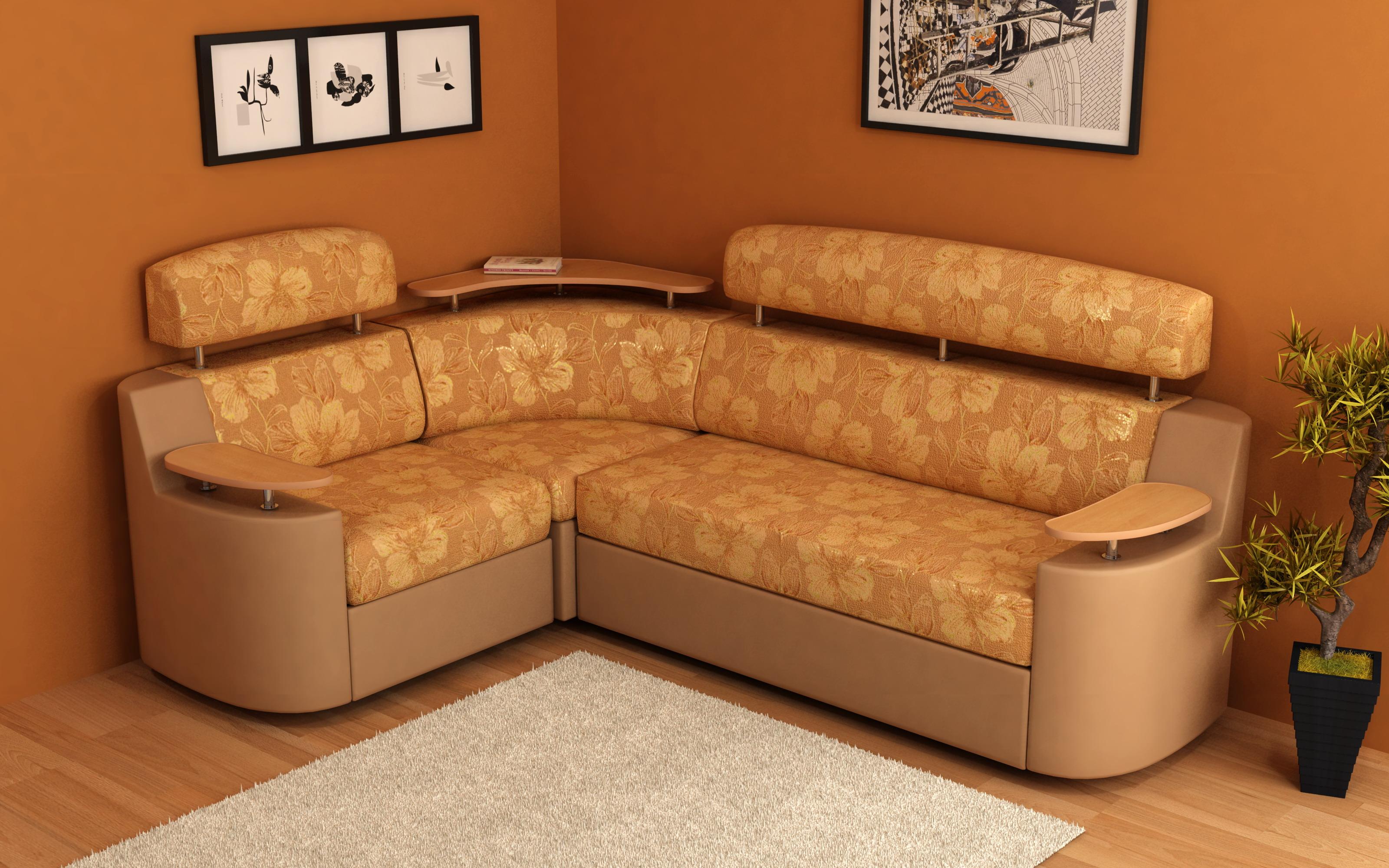 Удобство углового дивана