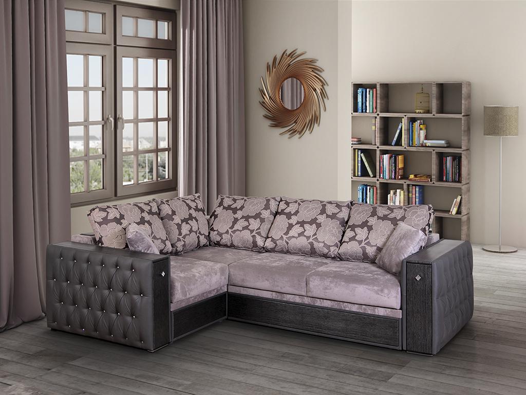 Угловой диван с мини баром