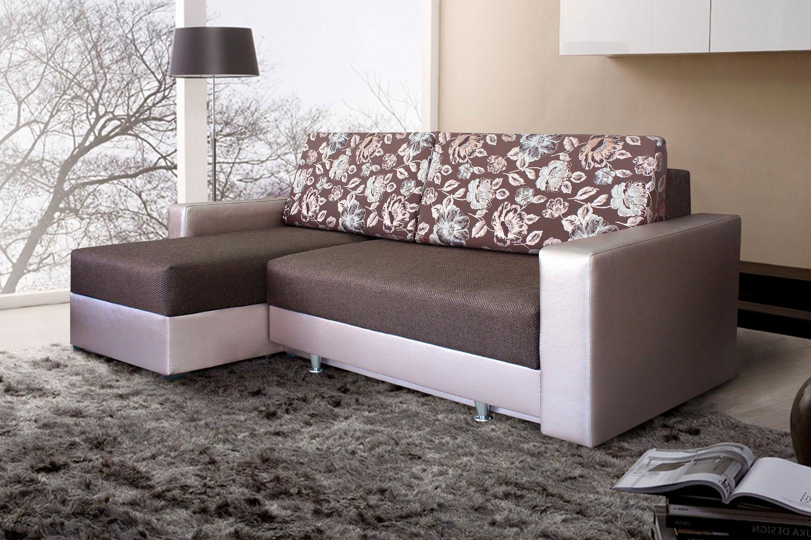 Угловые диваны — современный элемент интерьера