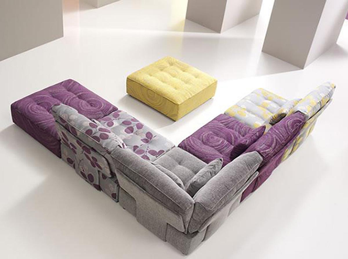 Выбор цвета модульного дивана