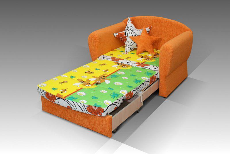 Яркий мини диван