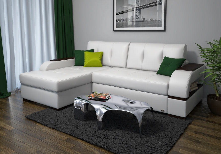 Белый диван Вит мебель