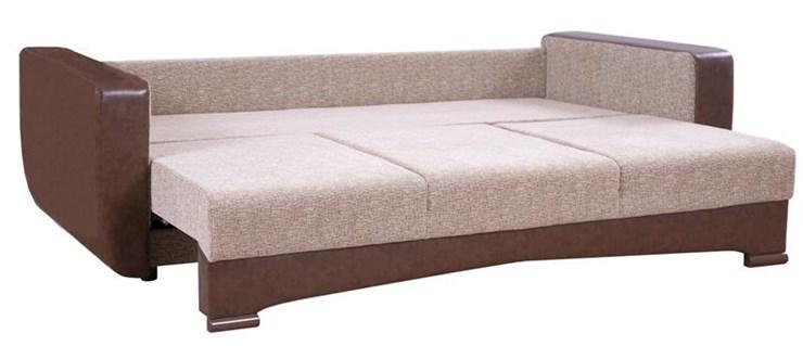 Бежевый диван тик-так