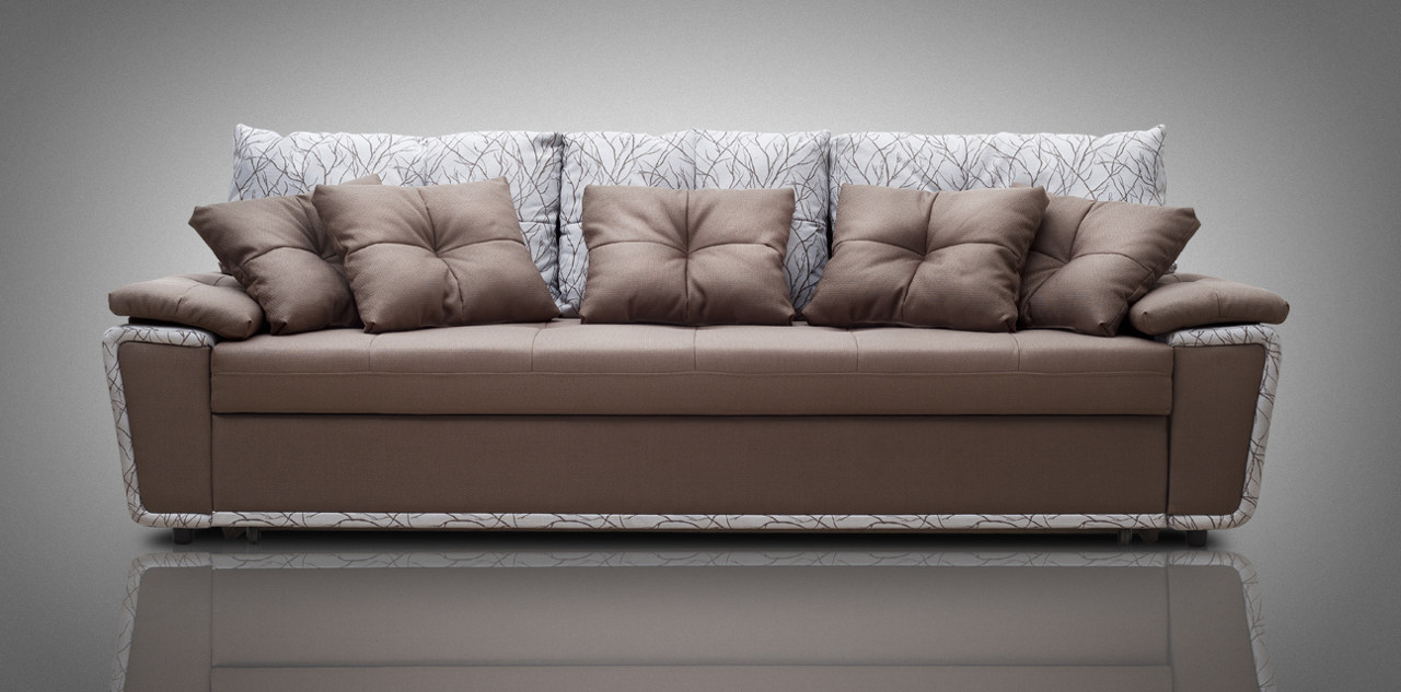 Большой диван с механизмом дельфин