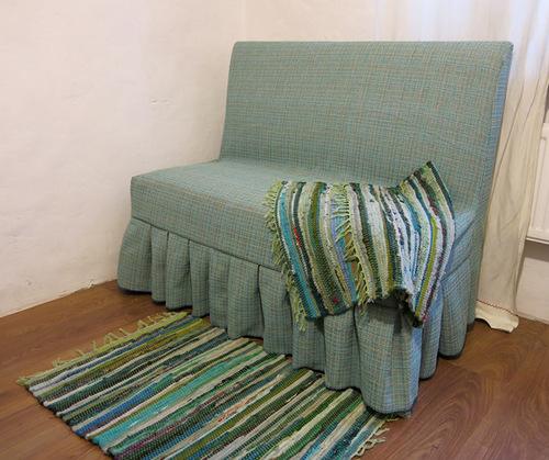 Коврик для дивана своими руками