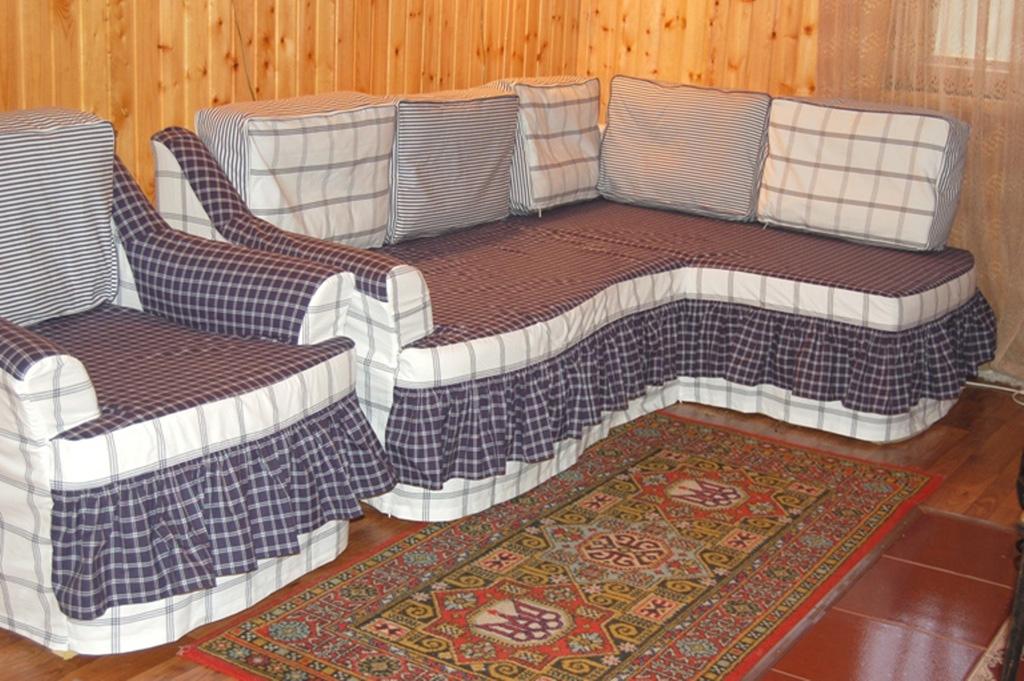 Как быстро сшить чехол на угловой диван 55