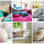 Как своими руками сделать подушку для дивана