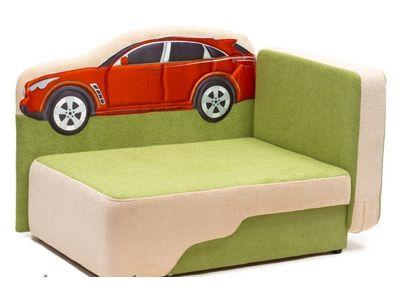 Детский диван с машиной