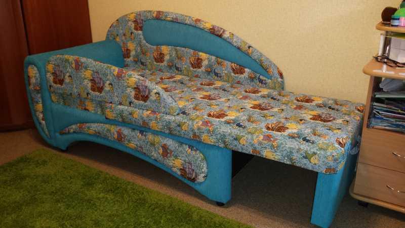 Детский диван в разложенном виде