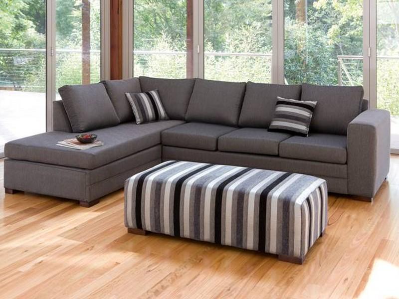 угловой диван фото для зала