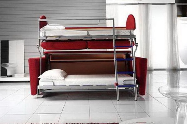 Двухъярусная модель дивана