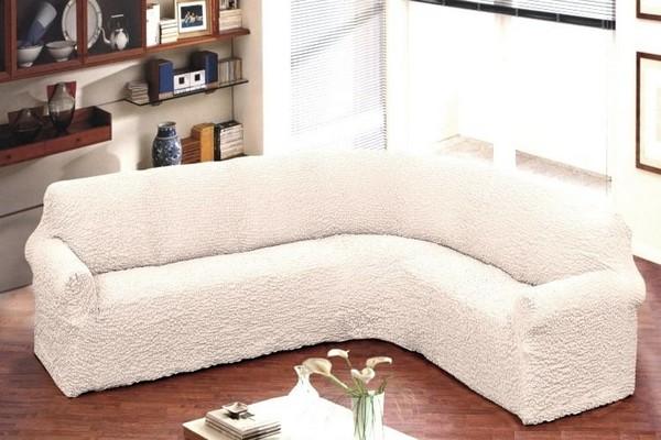 Еврочехол на угловую конструкцию дивана