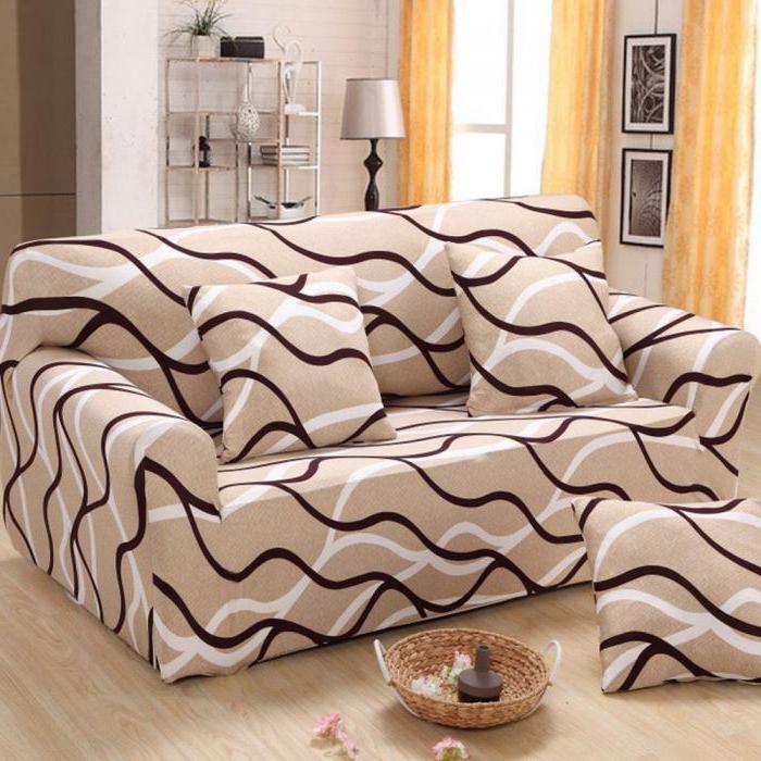 Фактура и цвет имитируют основную ткань дивана