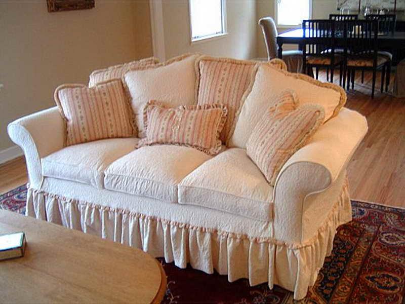 Идеи чехлов на диван