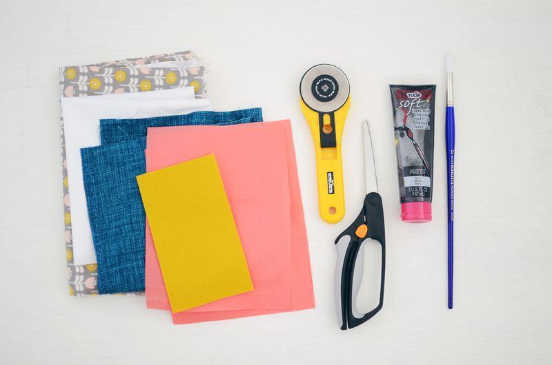 Инструменты для пошива подушки