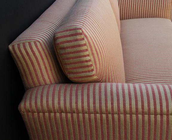 Использование хлопка для обивки дивана