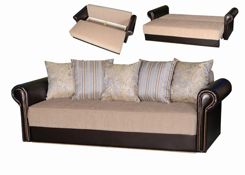 Как выглядит диван еврокнижка