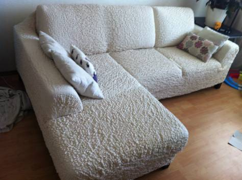 Как выглядит диван в еврочехле