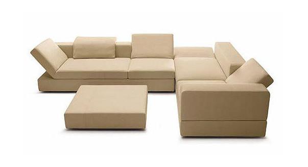 Конструктивные особенности модульных диванов