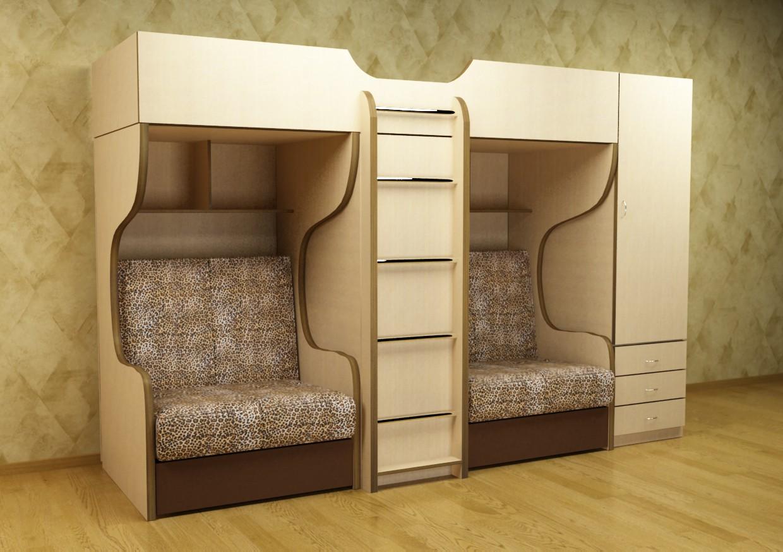 Корпусная мебель в детскую