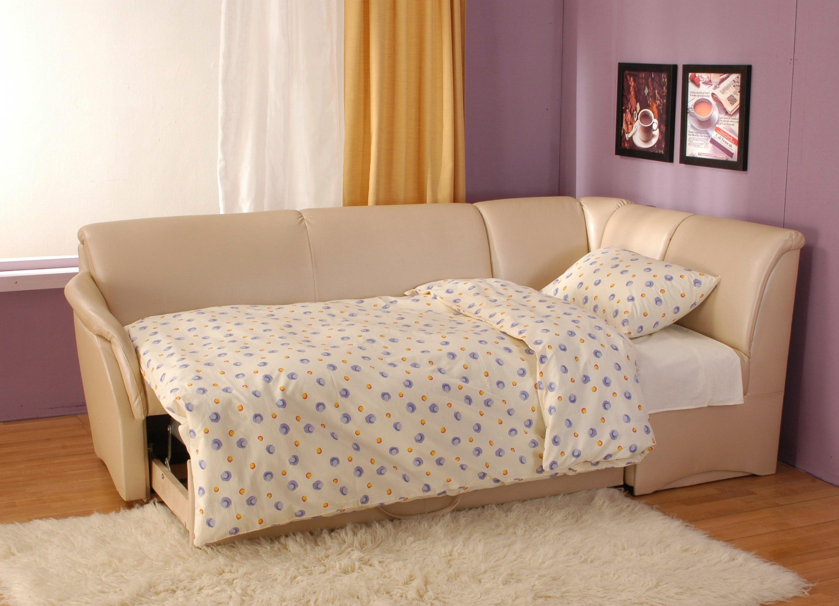Маленький диван для сна