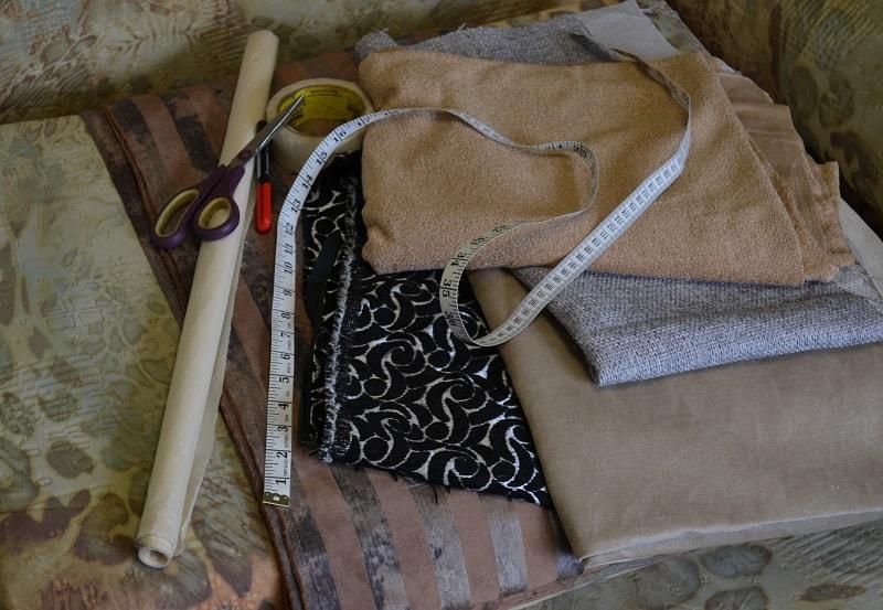 Материал и инструменты
