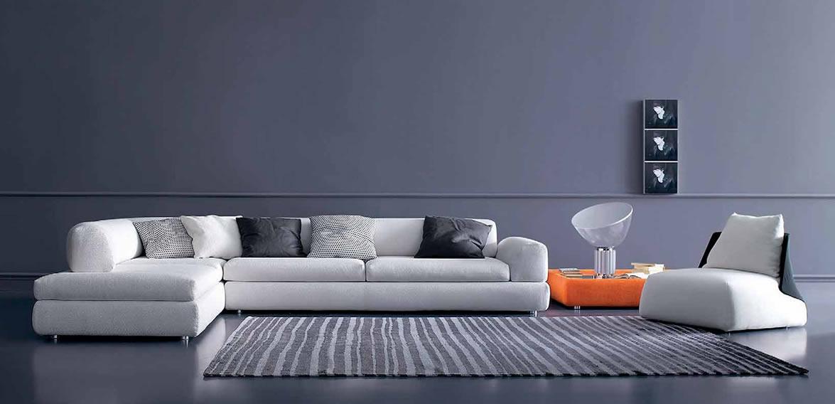 Модульный диван - актуальный дизайн