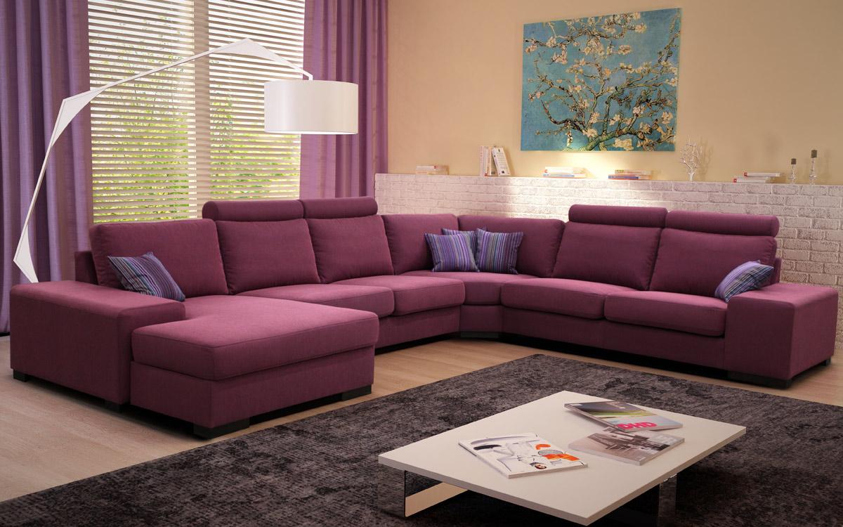 Модульный диван в гостиную