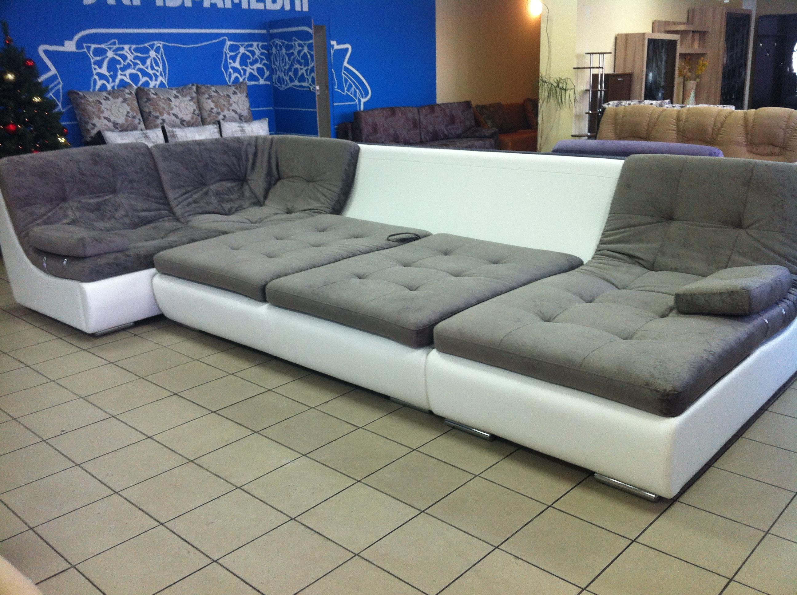 Модульный раскладной диван трансформер
