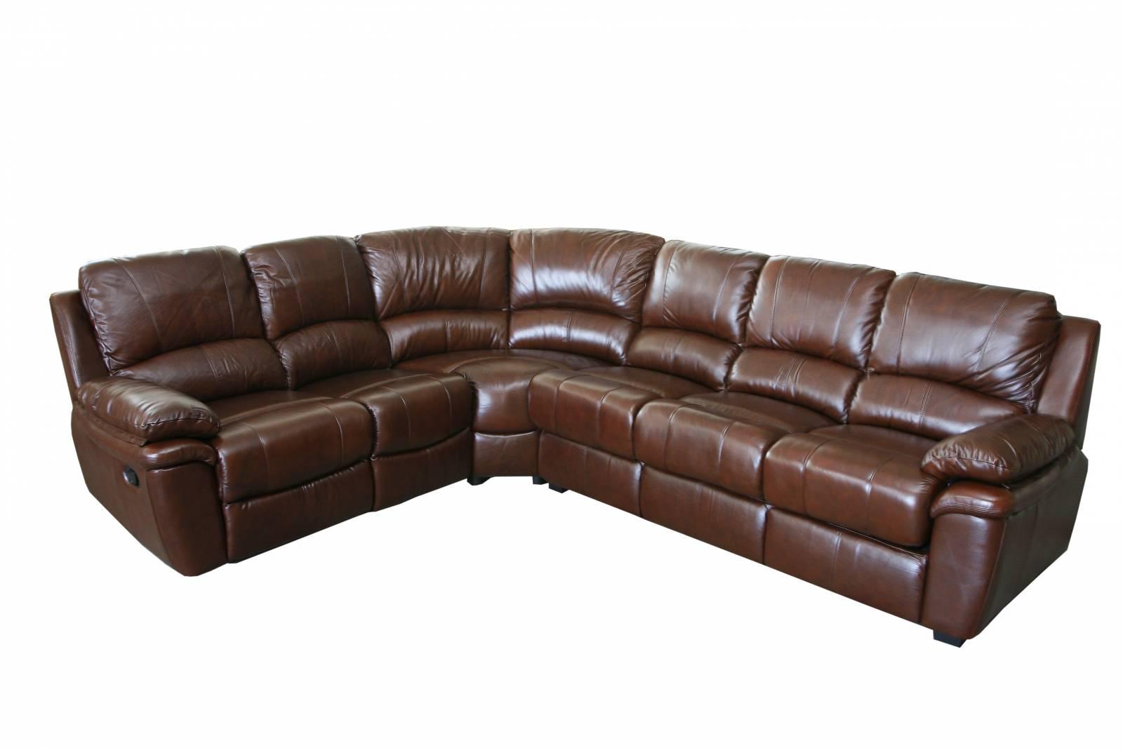 Монолитный угловой диван