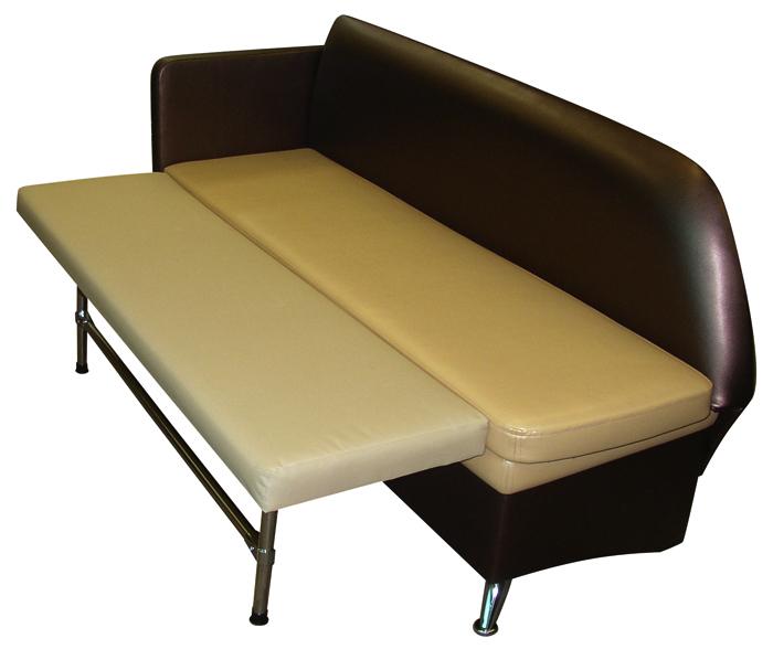 Небольшой прямой диван