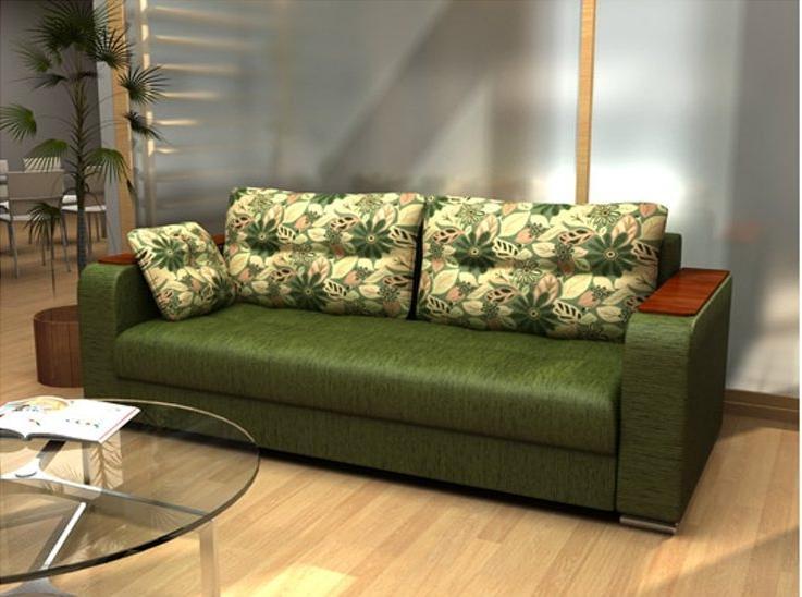 Обивка дивана шениллом