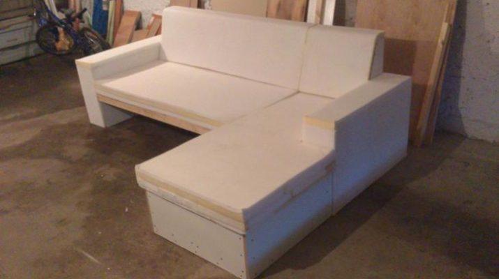 Фото углового дивана своими руками