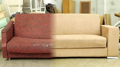 Перетяжка мебели
