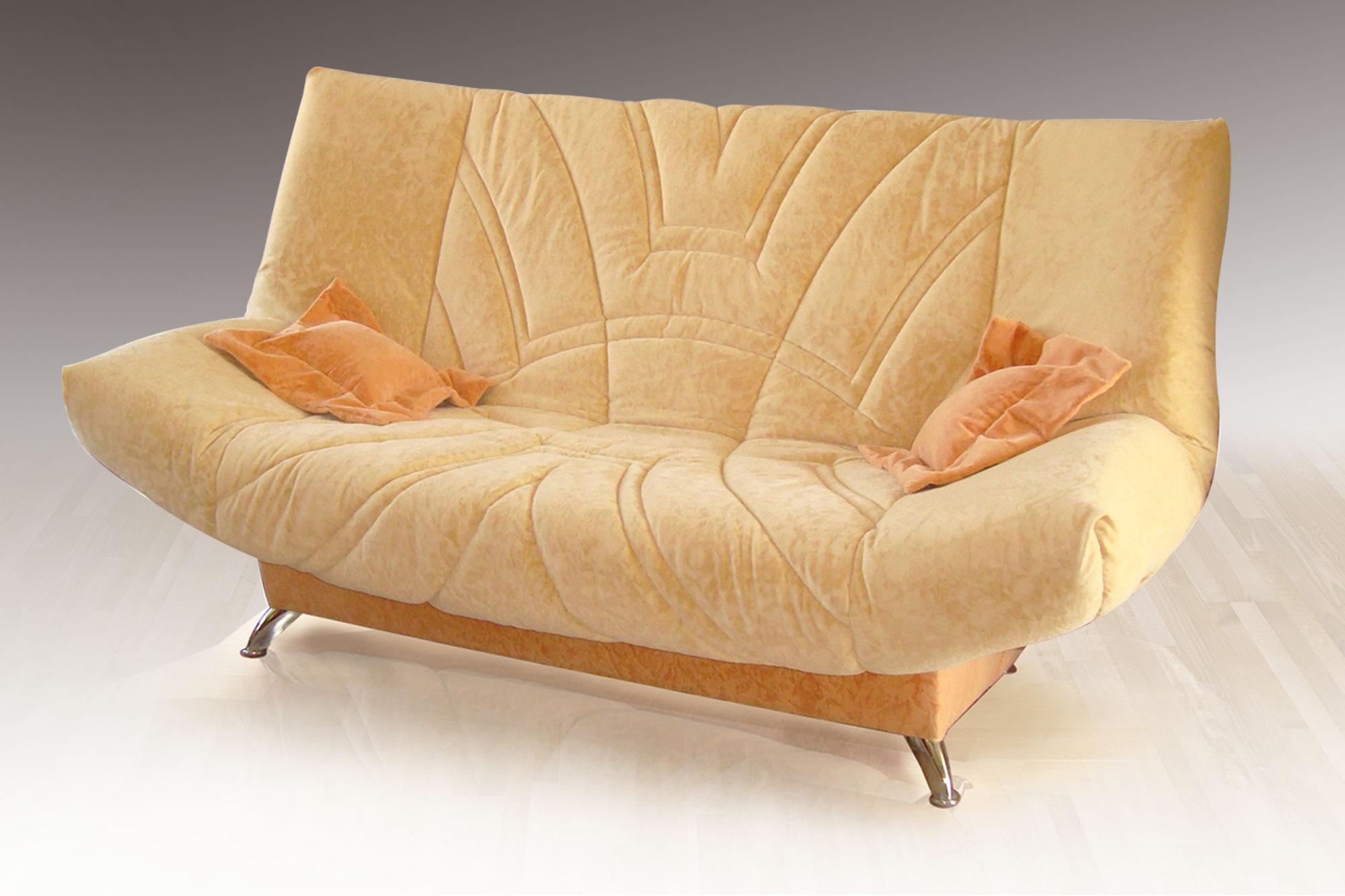 Персиковый диван