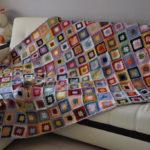 Правила вязания пледа и покрывала для дивана с подробными пояснением