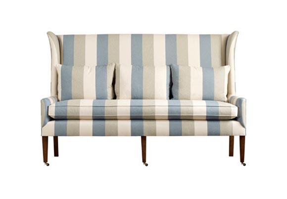 Полосатый диван