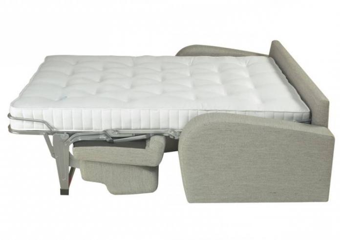 Прямой диван кровать с ортопедическим матрасом