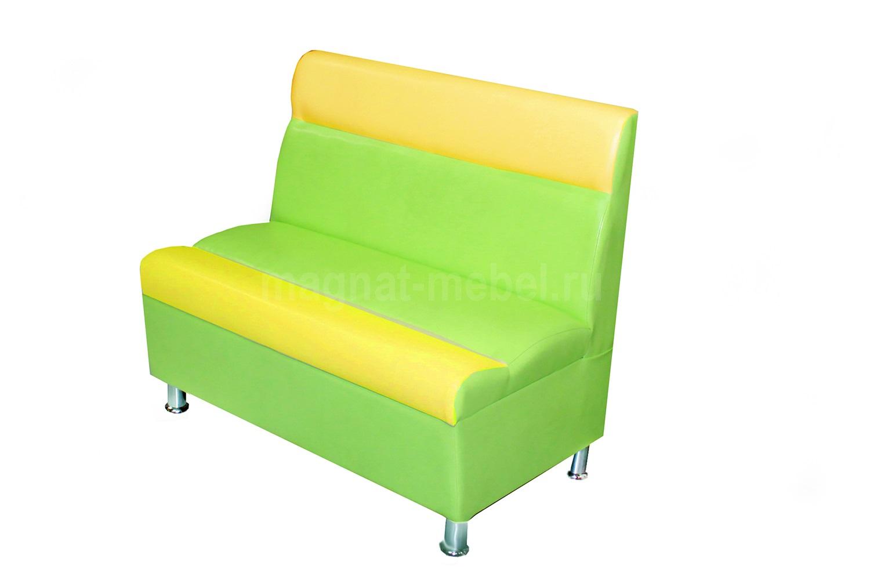Прямой диван с коробом