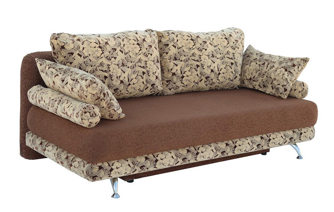 Раскладной диван с подушками