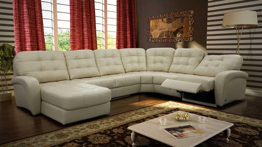 С раскладным креслом диван