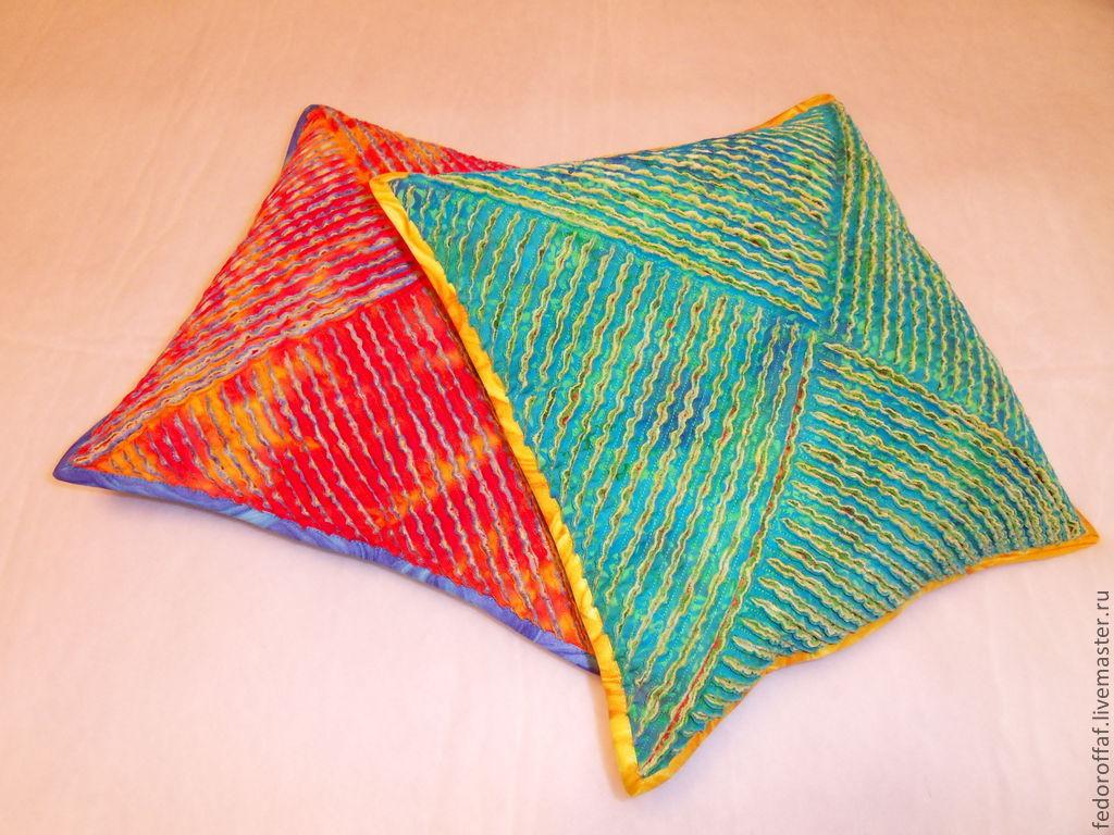 Самодельные подушки