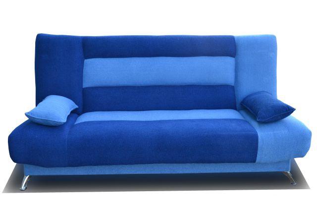 Синяя модель дивана