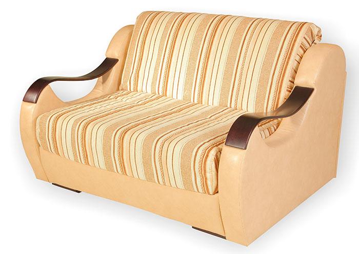 Светлый мини диван