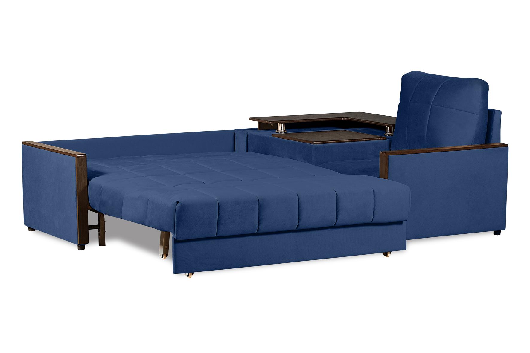 Темно синий диван в гостиную